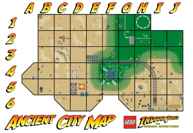 Ancient City Map